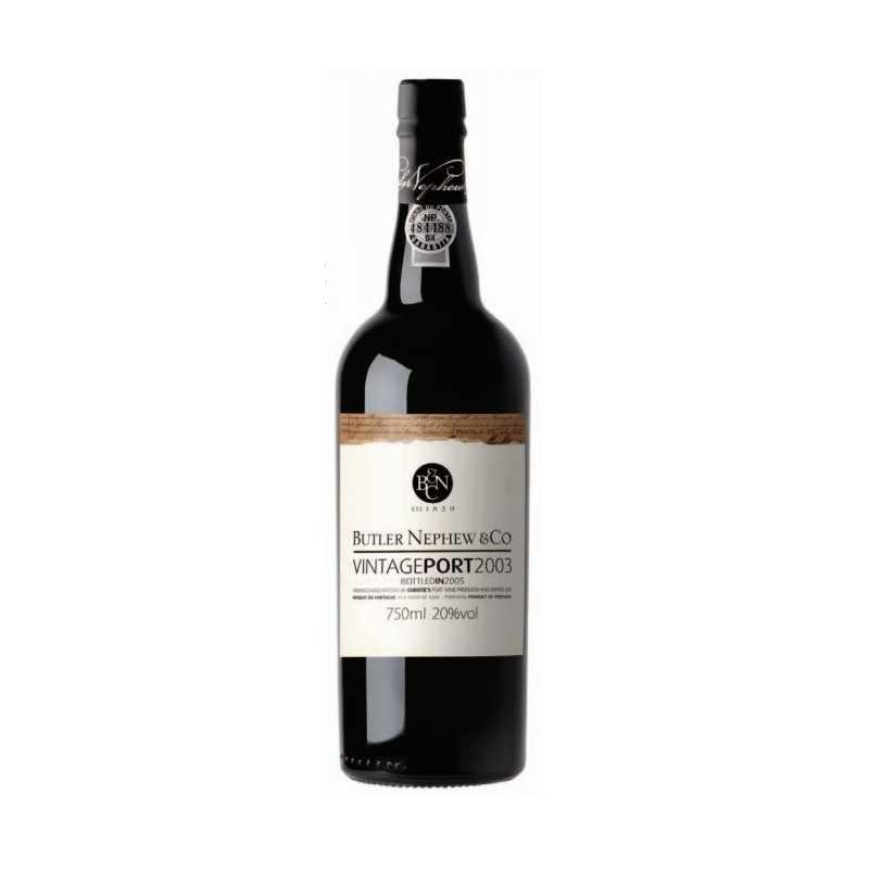 Butler Nephew ' s Vintage Port 2003 Wein